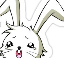 Bunny Carrot Sticker