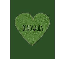 Dinosaur Love Photographic Print