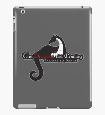 Game of Thrones - Dragons are Coming iPad Case/Skin