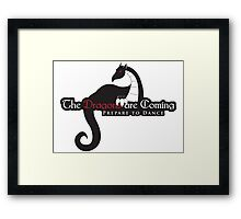 Game of Thrones - Dragons are Coming Framed Print
