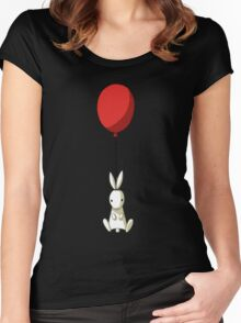 Balloon Bunny Women's Fitted Scoop T-Shirt