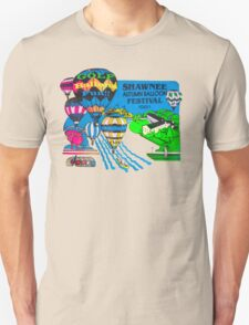 Psychedelic Hot Air  Unisex T-Shirt