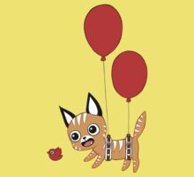 Balloon Cat Kids Clothes