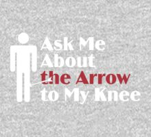 Skyrim - Ask Me About the Arrow (male) on dark Kids Clothes