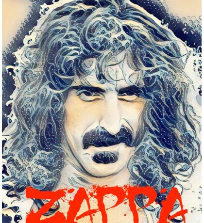 Frank Zappa and the Great Wave Off Kanagawa Sticker