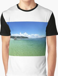 Beer Can Island Graphic T-Shirt