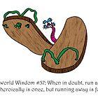 Discworld - Run Away! by littlebearart