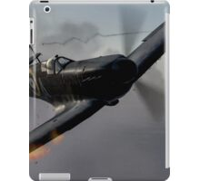 """Guns Blazing"" - Fantastic Digitial Painting of Spitfires in Battle / Spitfire WW2 iPad Case/Skin"