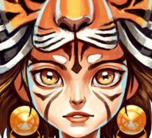 Tiger Tribe Sticker