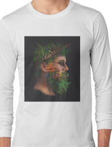 One With Nature | The Woods & Fungi Long Sleeve T-Shirt