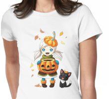 Pumpkin 2 Womens Fitted T-Shirt