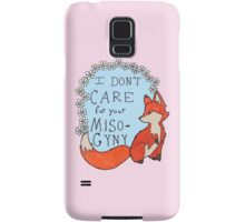Feminist Fox Samsung Galaxy Case/Skin