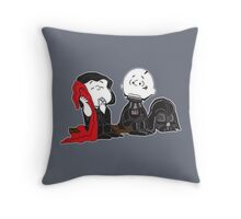 MASTER AND APPRENTICE - CHARLIE BROWN Throw Pillow