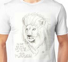 Aslan Original Pencil Art Unisex T-Shirt