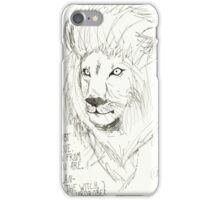 Aslan Original Pencil Art iPhone Case/Skin