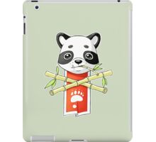 Panda Banner iPad Case/Skin