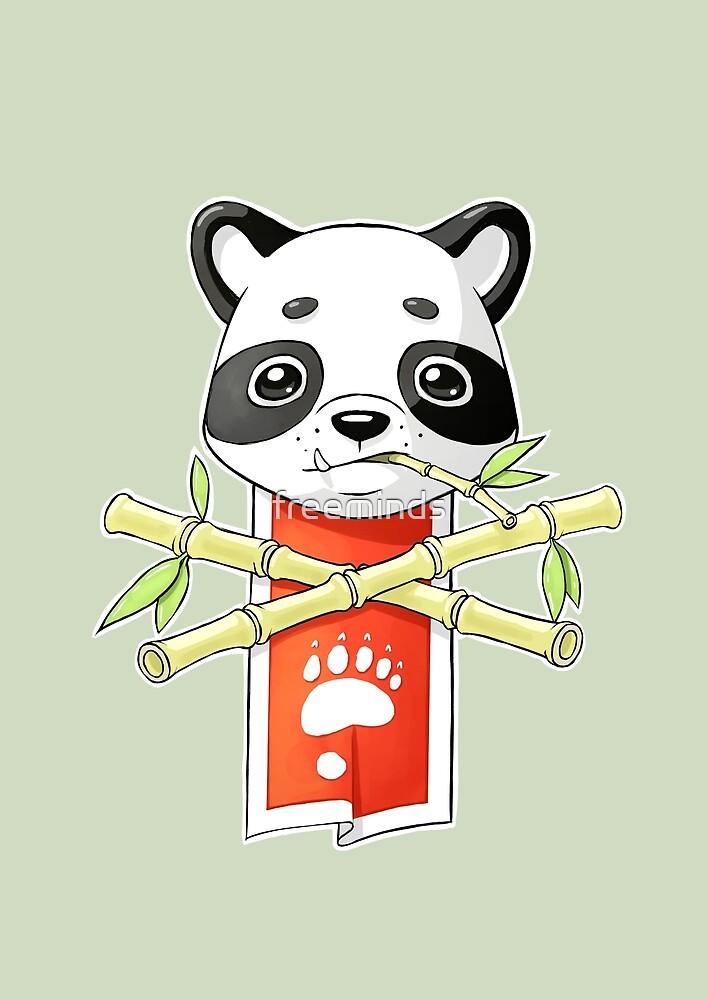 Panda Banner by freeminds