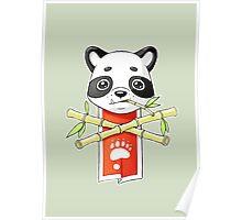 Panda Banner Poster