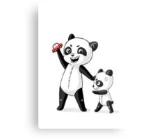 Panda Brothers Metal Print