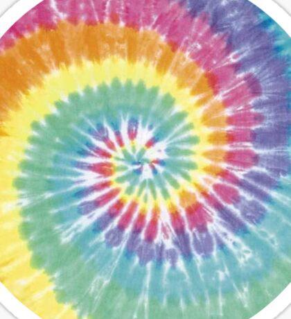 Tie Dye Pattern Sticker