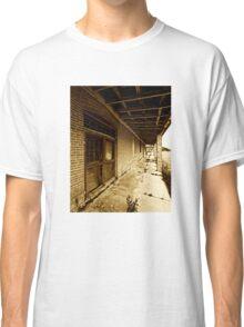 Abandoned porch - sepia  Classic T-Shirt