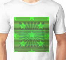 Starry Lime Radiance Unisex T-Shirt