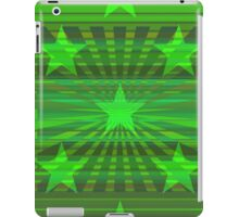 Starry Lime Radiance iPad Case/Skin