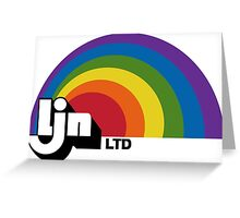 LJN Software - Classic Video Games Greeting Card