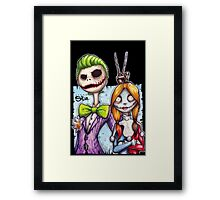Nightmare In Gotham Framed Print