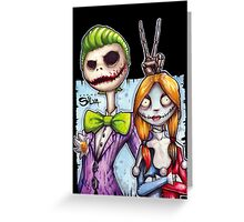 Nightmare In Gotham Greeting Card