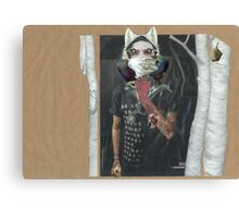 Werewolf Under the Ash Trees  Canvas Print