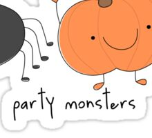 Party monsters Sticker