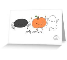 Party monsters Greeting Card