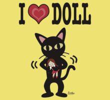 I love doll One Piece - Short Sleeve