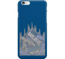 Milano e i suoi vocaboli  iPhone Case/Skin