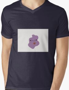 Ditto with Plant Mens V-Neck T-Shirt