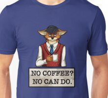 No Coffee? No Can Do. Fox Design Unisex T-Shirt