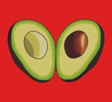 Avocado Heart Kids Tee