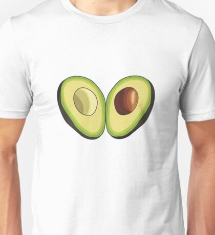 Avocado Heart Unisex T-Shirt