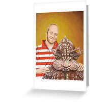 Chris and S.P.E.W.E.Y. Greeting Card