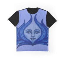 Blue Palm Oracle  Graphic T-Shirt