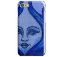 Blue Palm Oracle  iPhone Case/Skin