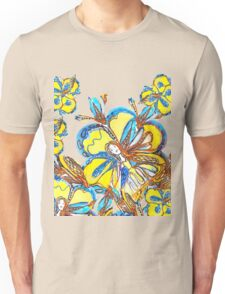 Field of Flower Fairies  Unisex T-Shirt