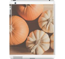 Pumpkins 4 iPad Case/Skin