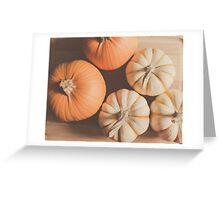 Pumpkins 4 Greeting Card