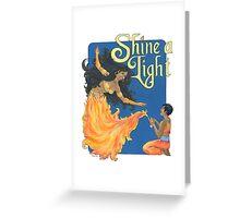 Shine A Light Greeting Card
