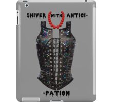 Shiver with Anticip- iPad Case/Skin