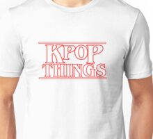 """""""KPOP THINGS"""" - Stranger Things Inspired Logo Unisex T-Shirt"""