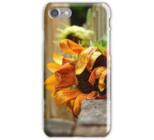 Sunflower On A Rainy Day iPhone Case/Skin
