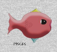 Pisces Sign of the Zodiac Kids Clothes